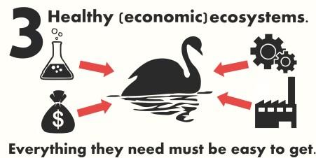 economic ecosystem infographic