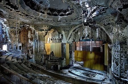 Detroit's united artists theater