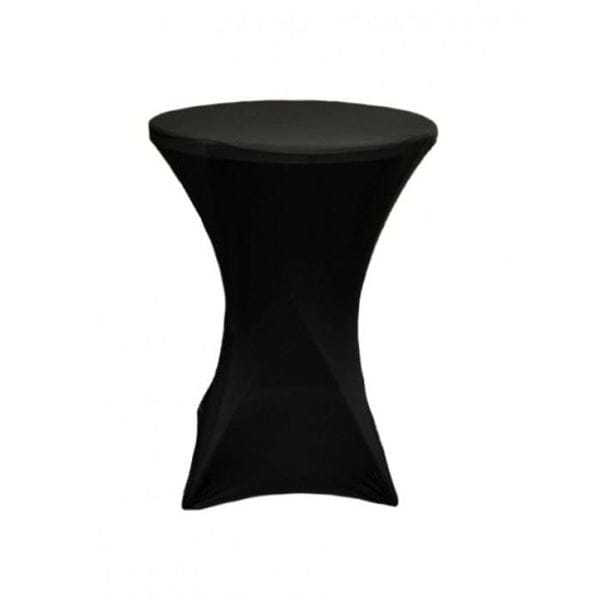 30 inch spandex cocktail tablecloth