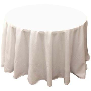 Picture of 108 in Round Spun Polyester Tablecloth