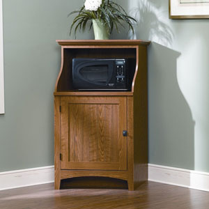 summer corner home microwave cabinet