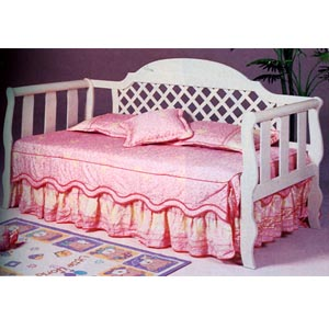 Day Beds White Wash Lattice Daybed 4814 Co