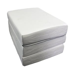 Folding Mattress Ultra Soft Extra Long Memory Foam Tri Fold Azfs Nationalfurnishing
