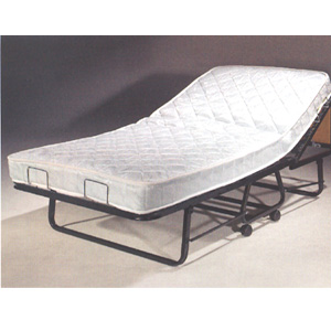 Omega Folding Bed with Adjustable Orthopedic Mattress     The Supreme Deluxe Folding Bed With Orthopedic Mattress SUF