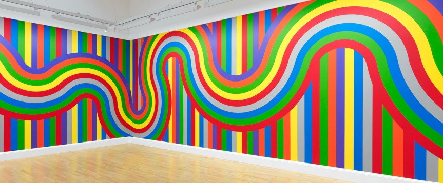 ARTIST ROOMS: Sol LeWitt, Wall Drawing #1136, 2004 | National Galleries of  Scotland