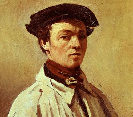 Portrait of Jean-Baptiste-Camille Corot