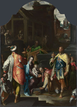 The Adoration of the Kings, Bartholomeus Spranger
