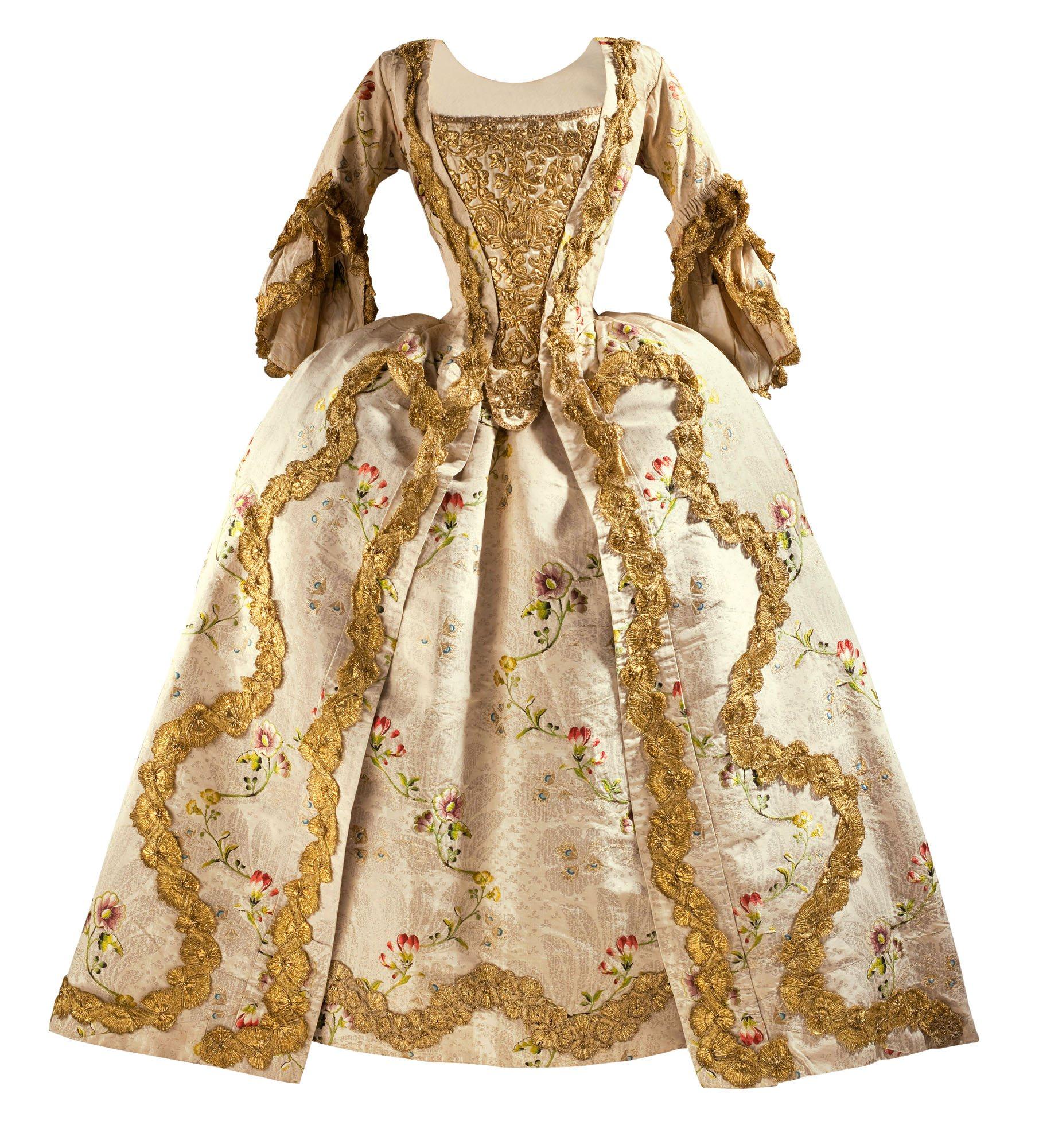 El vestido «a la francesa» en el siglo XVIII