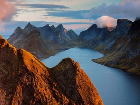 La costa de Noruega