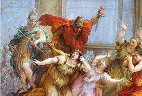 El asesinato de Cesonia