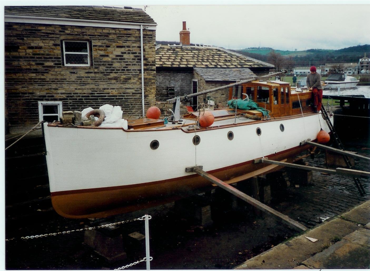 Name Seran National Historic Ships