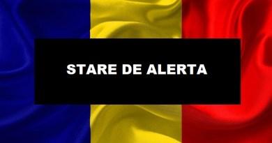 BREAKING NEWS Informatia momentului in Romania privind STAREA DE ALERTA