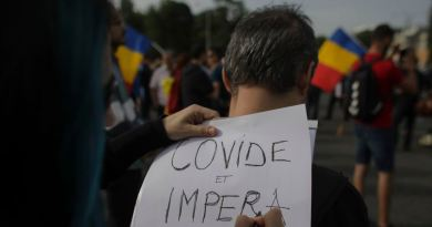 Proteste împotriva Legii carantinării, în Piața Victoriei: participă nume importante