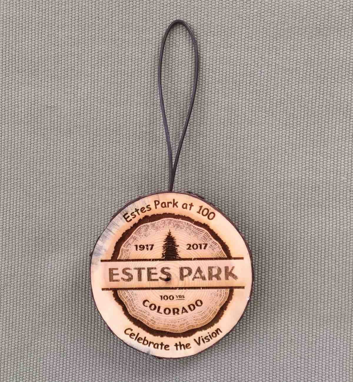 EP Centennial Bark Ornament