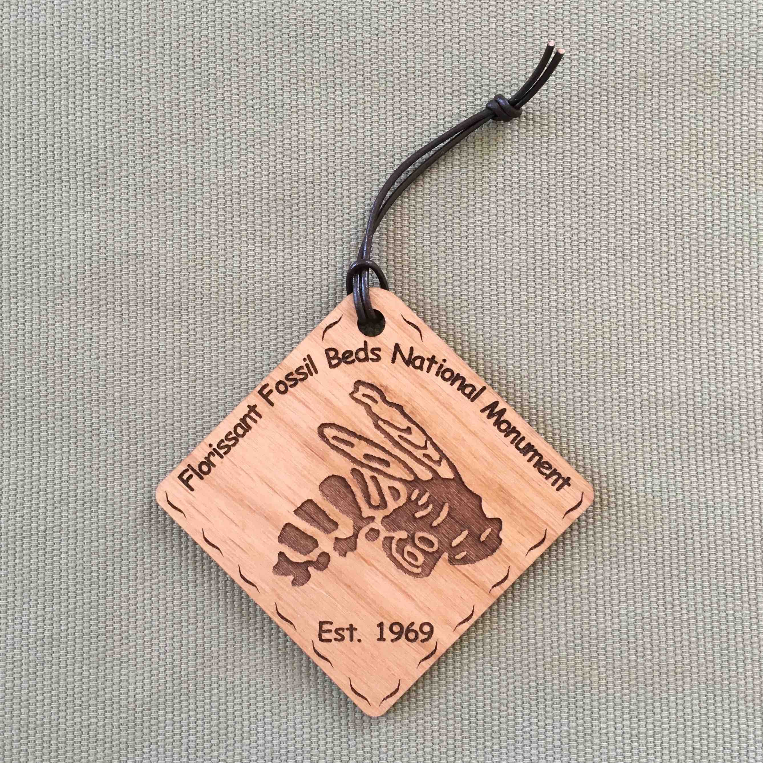 Florissant Fossil Beds National Monument Ornament