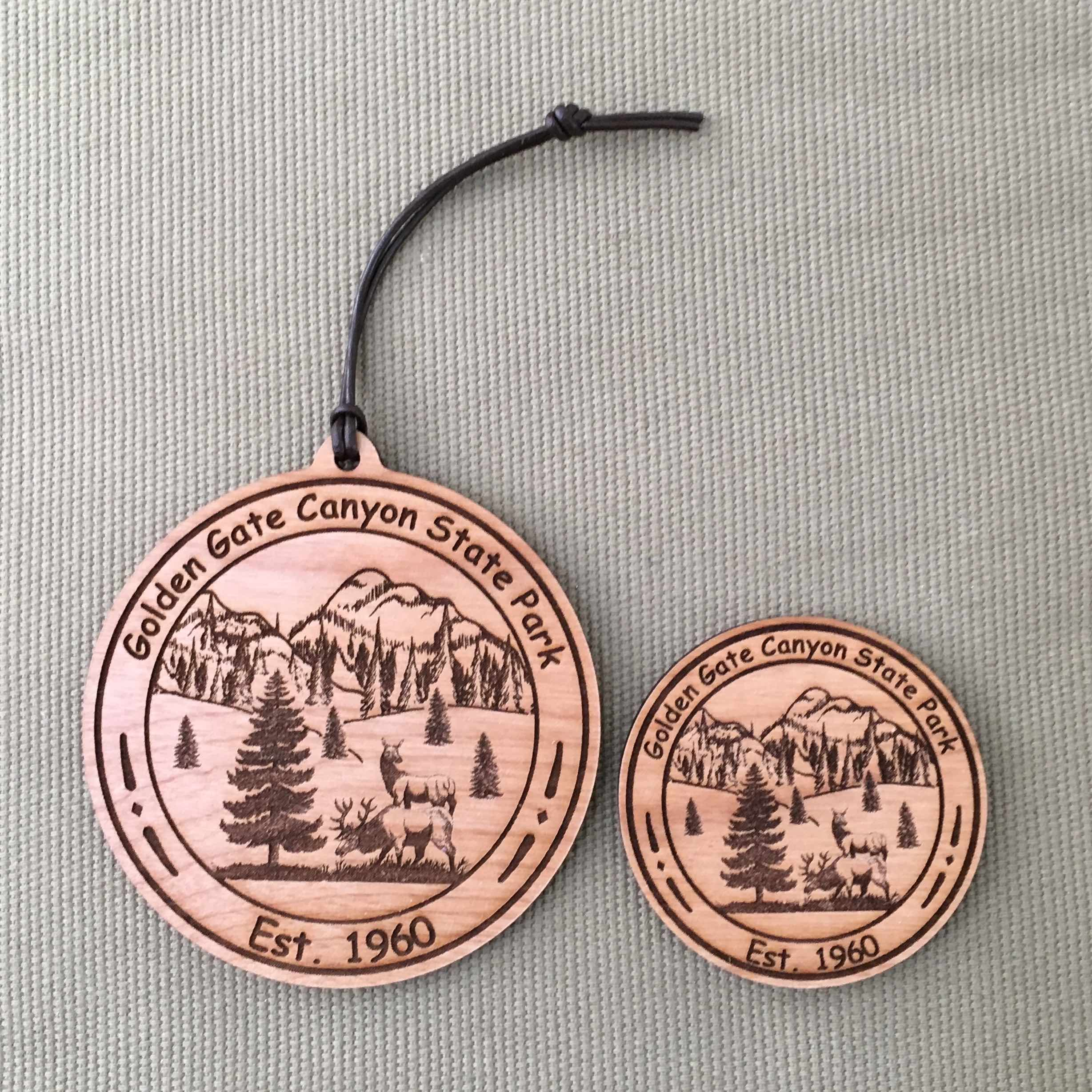 Golden Gate Canyon State Park Ornament & Magnet