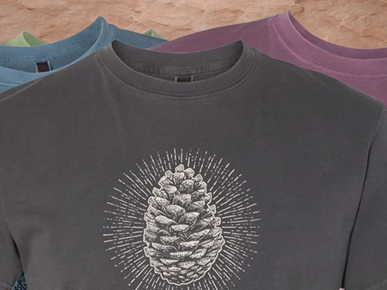 National Parks Art on t-shirts