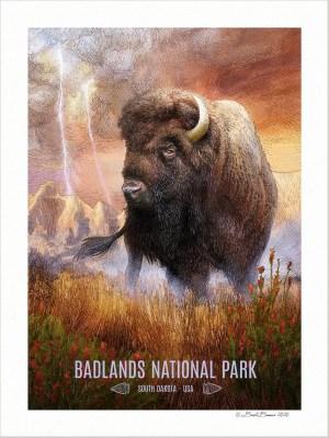 Badlands National Park Print