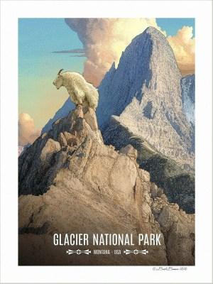 Glacier National Park Print