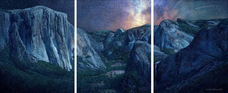 The Magic of Yosemite Valley - Triple Print