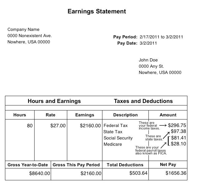 Paycheck Template Pdf. 7 pay stubs templates flyer templates pdf ...