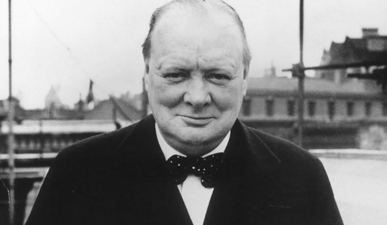 Churchill In 1939 Evening Standard Getty