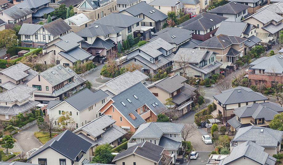 Neighborhood in Urayasu, Japan
