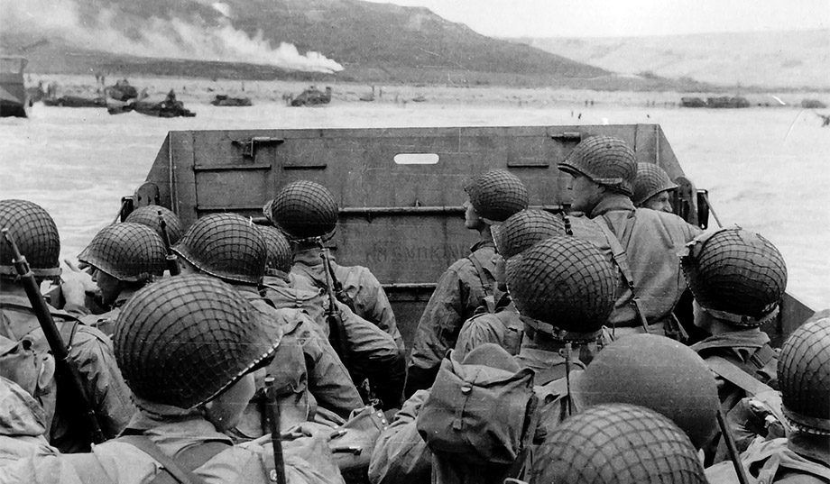 On June 6, 1944, more than 160,000 Allied troops took part in the invasion of Normandy, the pivotal battle in the campaign to liberate Western Europe and ultimately defeat Nazi Germany. Here's a look back at images from the D-Day landings.
