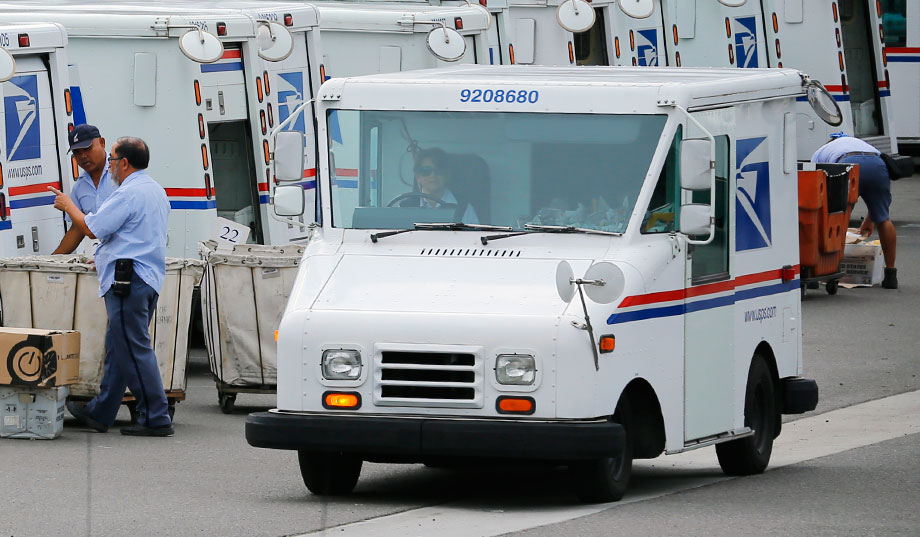 Postal Station In Carlsbad, Calif. (Reuters Photo: Mike Blake) ...
