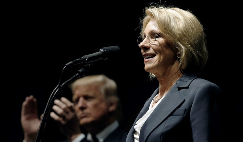 Betsy Devos And Plan To Break Public >> Betsy Devos Double Standard National Review