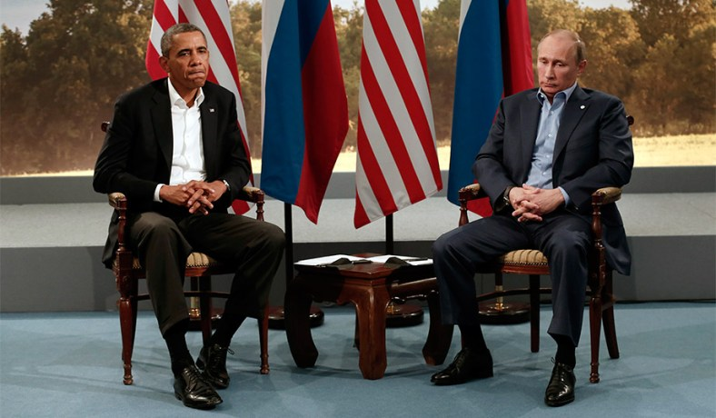 Image result for Barack Obama with Putin, photos