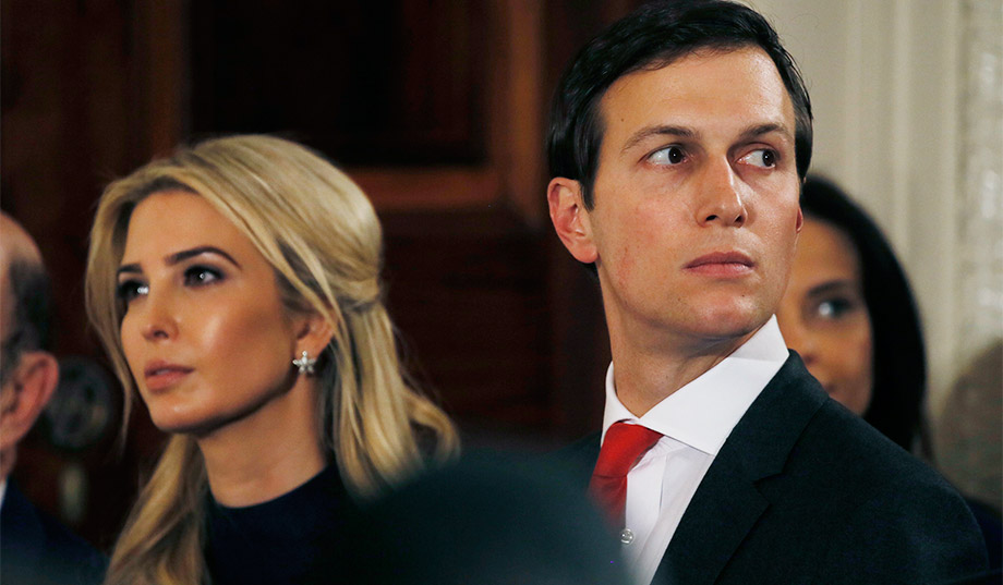Jared Kushner and Ivanka Trump Threaten to Sue Lincoln Project over Times Square Billboards | National Review