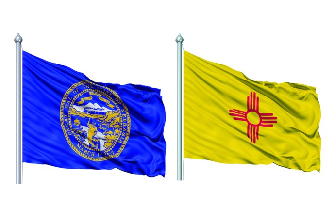 American State Flags The Good The Bad Nebraska National Review