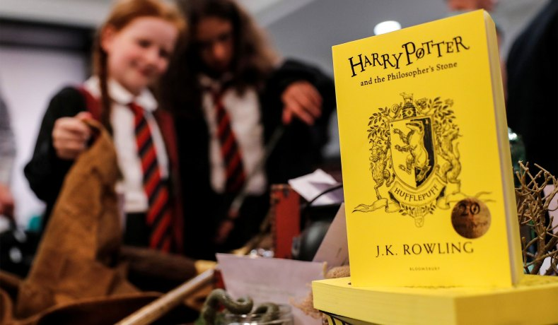 2f0ebf6d137616 Harry Potter fans at a bookstore in London. (Reuters photo  Eddie Keogh) ...