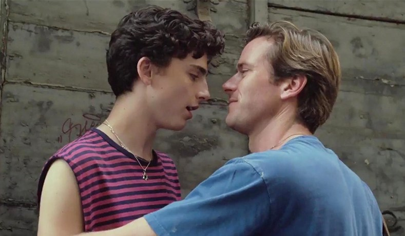 Timothee Chalamet And Armie Hammer In Call Me By Your Name Sony Pictures Classics
