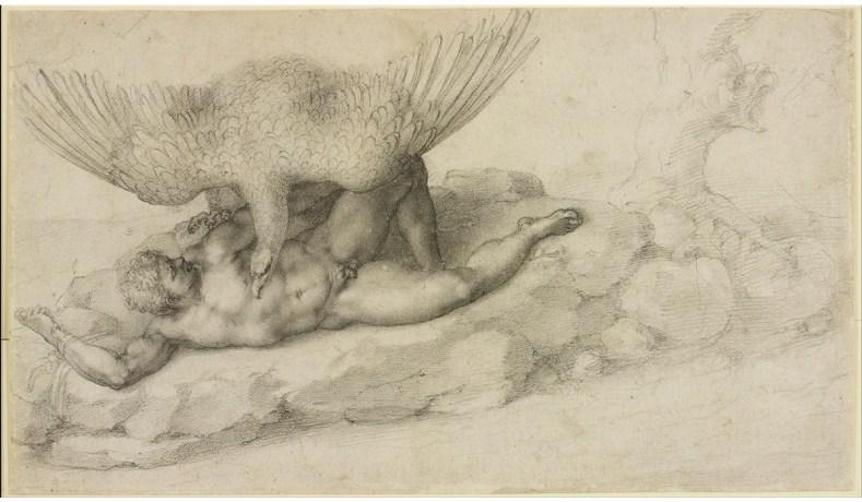 Met Michelangelo Drawings Reveals Origins Of Artists Mastery