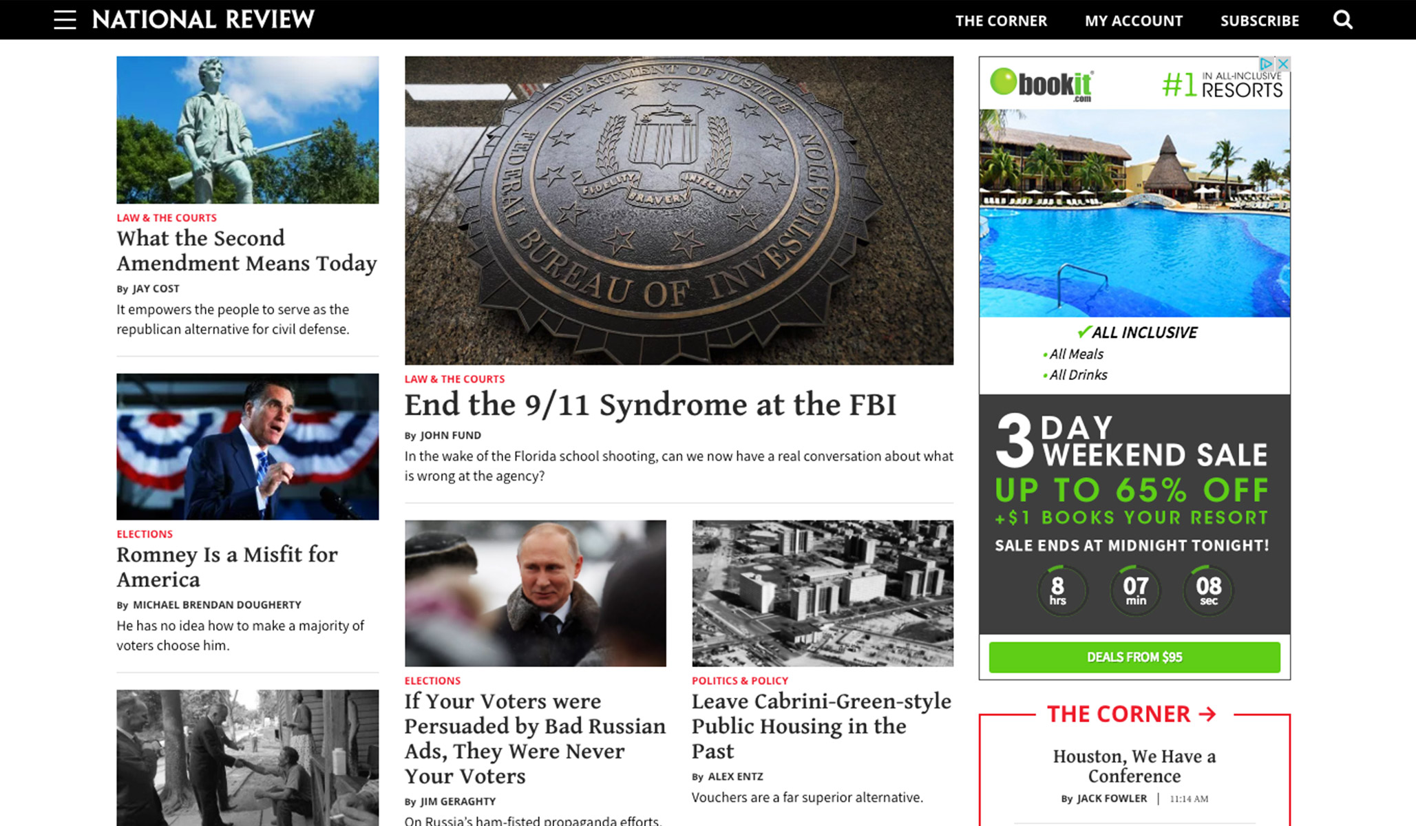 National Review Redesign Launch: Message from Publisher