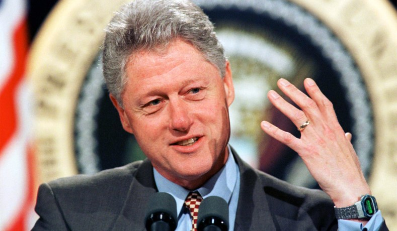 President Bill Clinton At The White House In  Mark Wilson Reuters