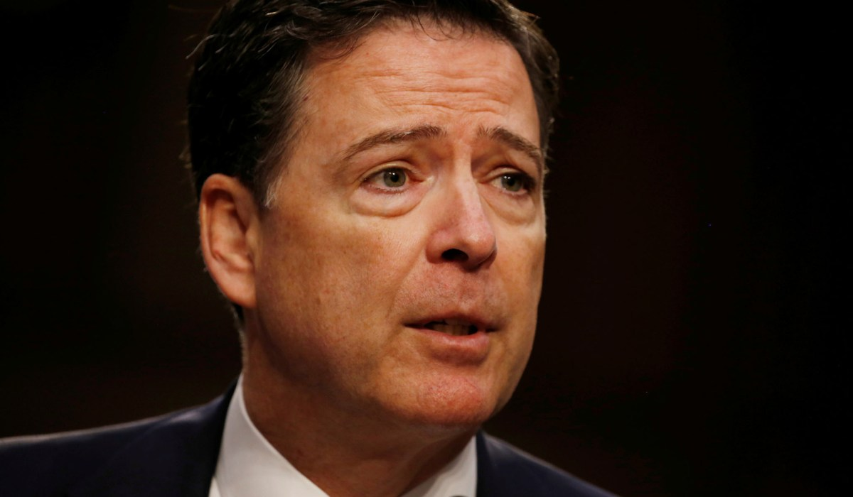 photo image James Comey Gets Pilloried from Left, Right, and Center