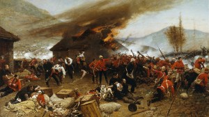 The Defence of Rorke's Drift, by Alphonse de Neuville
