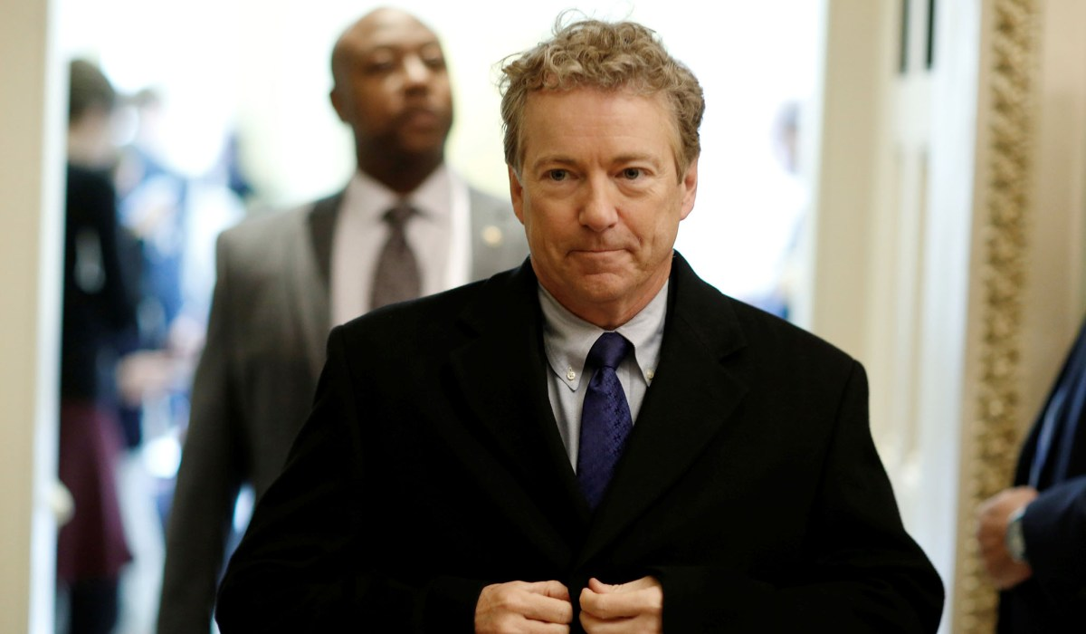 photo image Rand Paul, 'Political Libertarian'