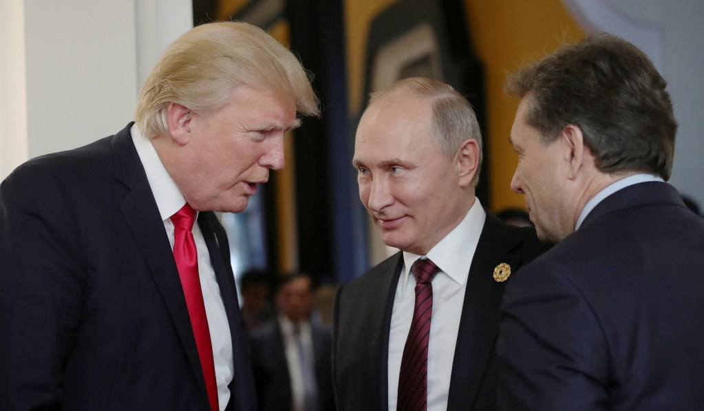 photo image Trump's Not a Russia Pawn. He's Just Erratic — Yet Again.