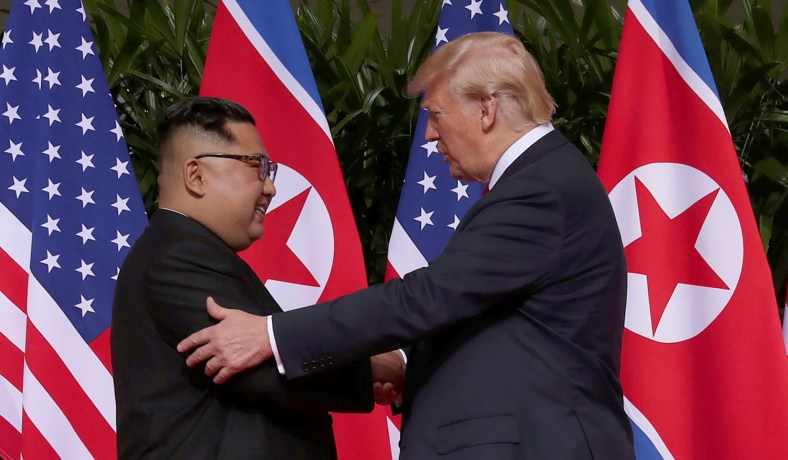 Trump Accepts Kim's 'Word' That He Was Not Responsible for Otto Warmbier's Death