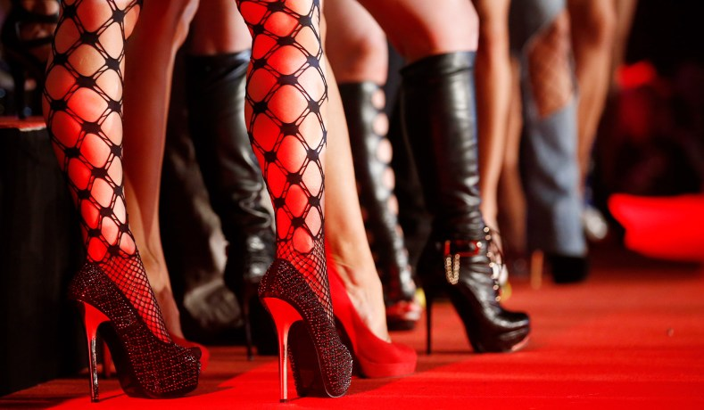 Porn Actresses Line Up At The Opening Of The Venus Erotic Fair In Berlin October 17 2013