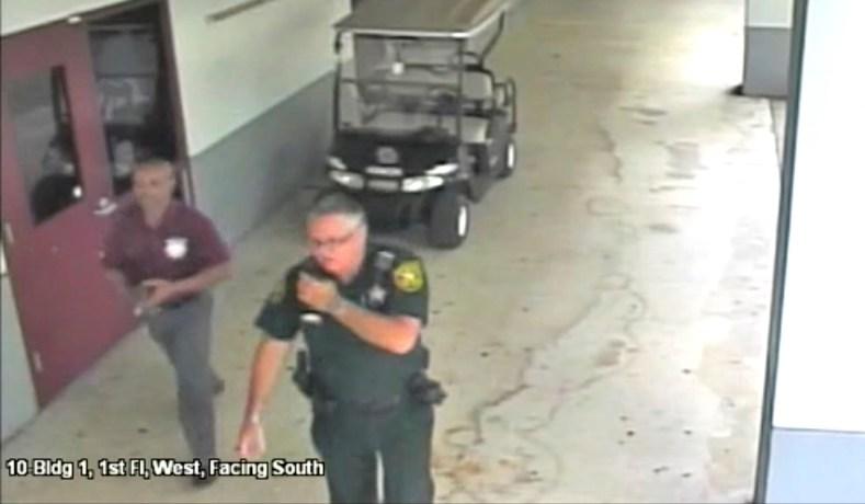 New Video Shows Parkland Deputy Hiding as Shooter Kills Students