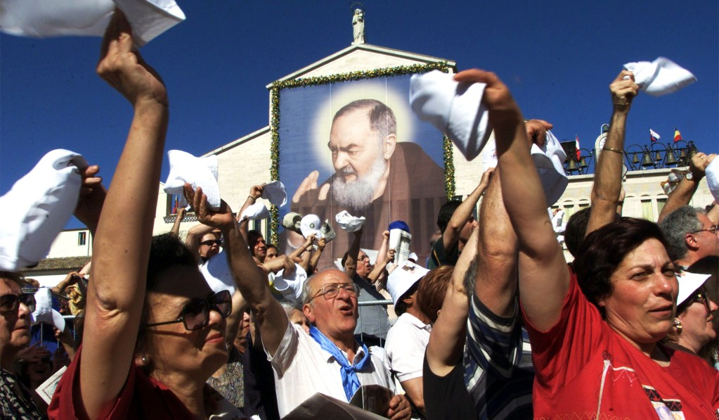 Padre Pio and Our Bloody Mess