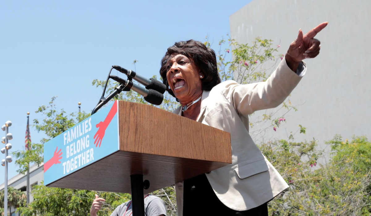 Maxine Waters Tells Protesters to 'Stay in the Street,' Be 'More Confrontational' If Chauvin Acquitted   National Review