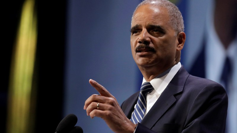 f74ba4e7d10e Eric Holder at the Human Rights Campaign dinner in Washington