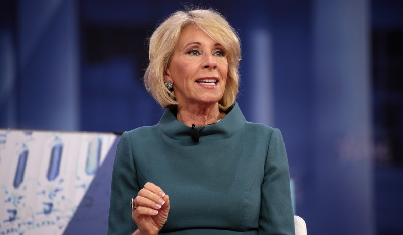 Betsy DeVos Strikes a Blow for the Constitution