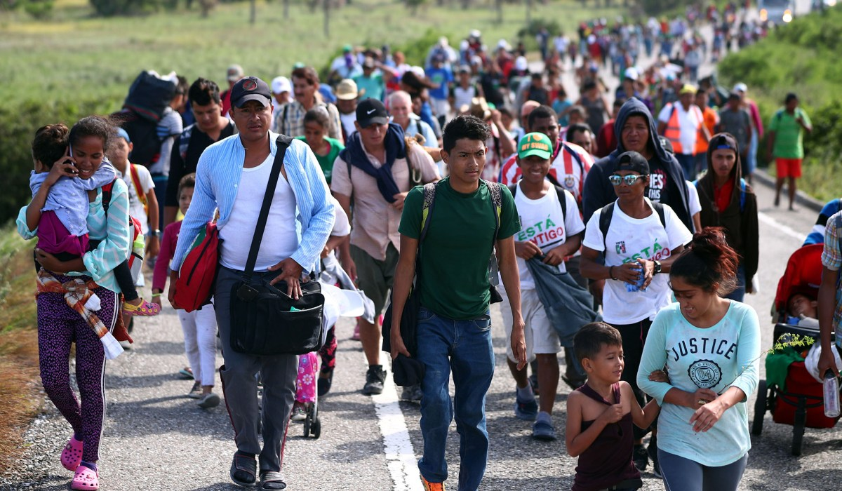 New Migrant Caravan Heads North From Honduras to the Border | National Review